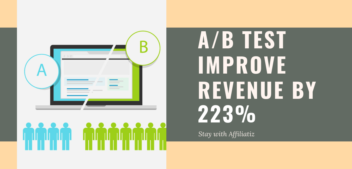 a/b test for increasing conversion rate